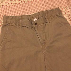 Boys Izod khaki pants size 12 husky