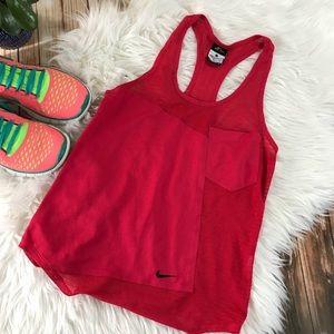 Nike dry fit racerback tank top