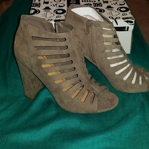 Brand New in Box booties size 8