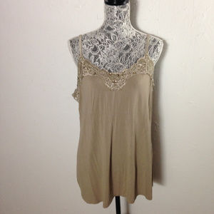 Lace cami by Lane Bryant
