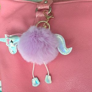 Accessories - Awesomely cute Purple Unicorn 🦄 keychain ❤️