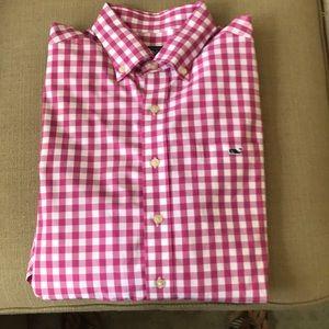 Vineyard Vines Long Sleeve Shirt, Size L