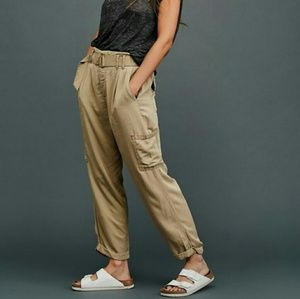 Free People Summers Over Cargo Pants