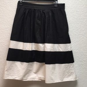 Zara Midi Poplin Skirt