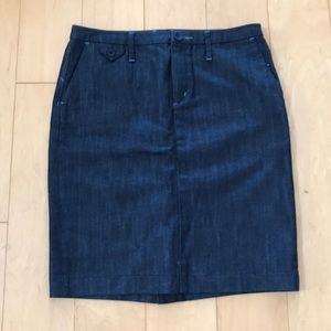 Banana Republic denim skirt size 2