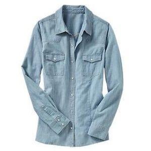 Chambray shirt, XS