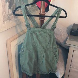 Green Brandy Melville overalls