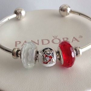 Pandora Disney Lilo and Stitch Charm Set of 3