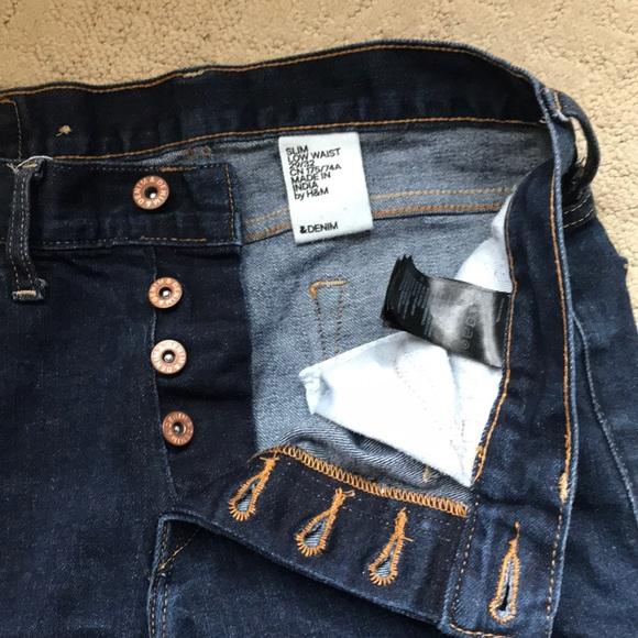 H&M Denim - NWOT H&M dark denim skinny jean 6