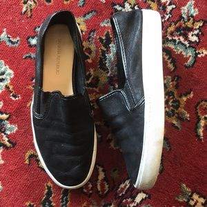 Banana Republic Leather slip-ons!