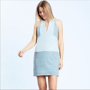 Heather Gray Sleeveless Sweater Mini Dress