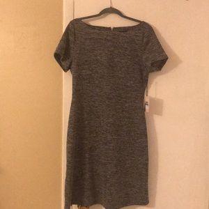 Grey cap sleeve dress. NWT