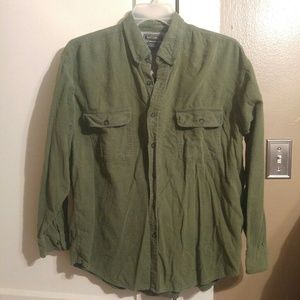 Men's Thermal Button Down