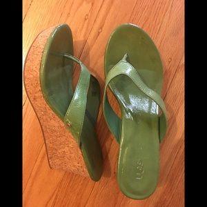 UGH Wedge Sandals
