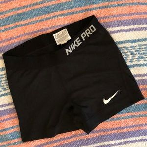 Nike Pro Dri-Fit Spandex Short S Black