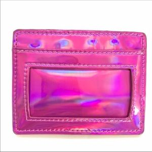 NWOT Urban Outfitters Purple Metallic Card Holder