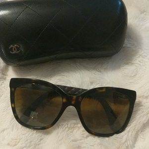 Chanel Butterfly Quilting sunglasses
