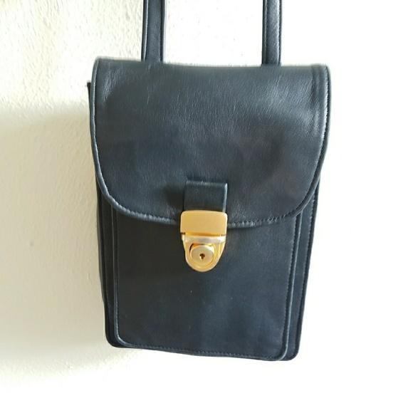 b804cb6b91085 Bruce Alan Handbags - Sale! 90 s Vintage Glove Leather Crossbody bag