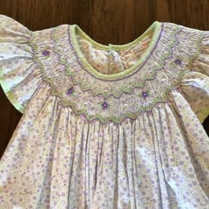 Petit Ami smocked dress Size 4t