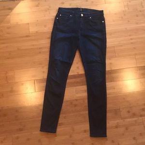 7 For All Mankind High-rise Skinny Jean