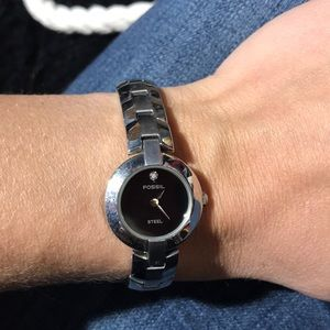 Used dainty Fossil watch
