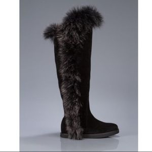 New OTK boots with fur! Great gift idea 🎁