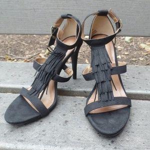 Christian Siriano strappy heels