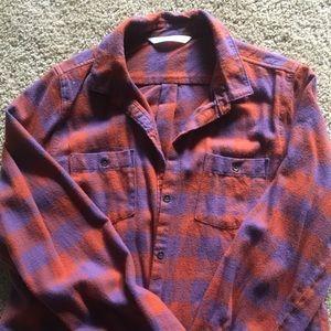 Woolrich flannel shirt.