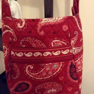 Vera Bradley Red Cross Body Bag