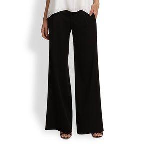 NWT Alice + Olivia Wide Leg Black Trousers