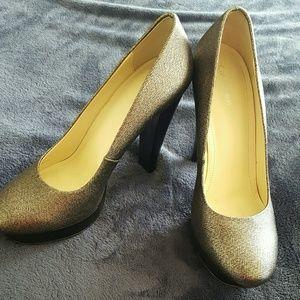 Clavin Klein platform High Heels Shoe