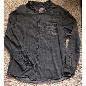 Denim Dress/ Workshirt