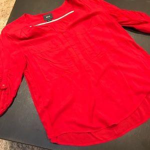 Maeve large pocket blouse
