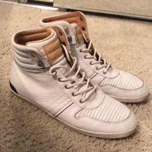 Men's UGG high top sneakers.