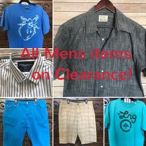 Other - Men's Clothes on Sale!