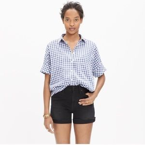 Madewell Courier Shirt Gingham
