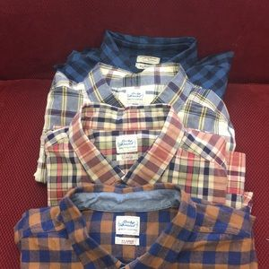 4 long sleeve button up shirts by lucky brand