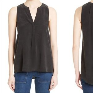 Joie Silk Sleeveless Blouse - M