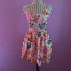 Miss Selfridge Tropical Dress