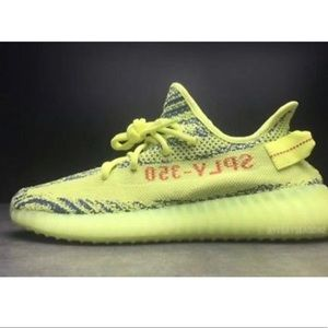 "Adidas Yeezy 350 Boost V2 ""Semi Frozen Yellow"""