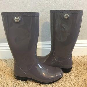 Brand new UGG rain boots