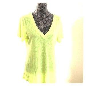 Old Navy women's yellow top size L