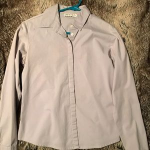 Gray Merona button down shirt
