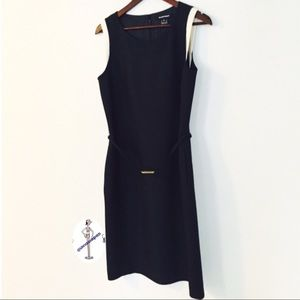 Ellen Tracy Silk Sheath Dress