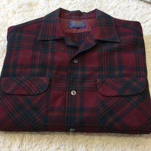 Pendleton 100% Wool Button Down