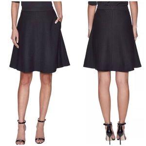 💖HP💖Theory Zaikin B3 Diamond Knit Jacquard Skirt