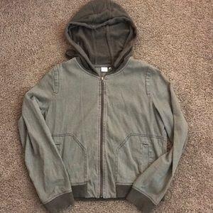 Green PB hooded jacket