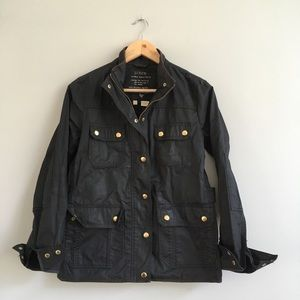 J. Crew Coated Field Jacket