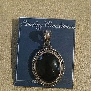 NWT 925 ONYX pendant