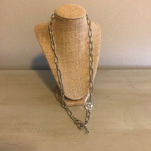 Jewel Kade Silver necklace